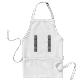 Black and White Houndstooth Manage this category Adult Apron