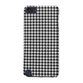 Black and White Houndstooth Pattern iPod Touch (5th Generation) Cover
