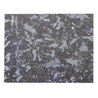 Black and White Ink on Purple Background Notepad