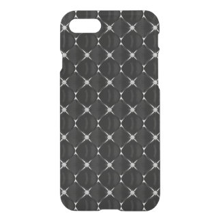 Black and white inverted pattern dogwood flower iPhone 7 case
