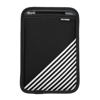 Black-and-white iPad Mini Sleeve