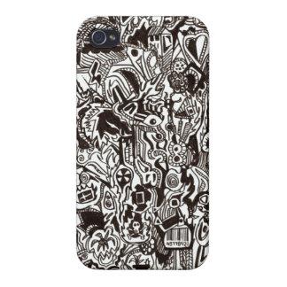 Black and White iPhone 4/4s design case iPhone 4/4S Case