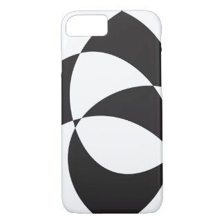 Black and white iPhone 8/7 case