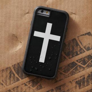 Black and White Jesus Christ Cross iPhone 6 Case