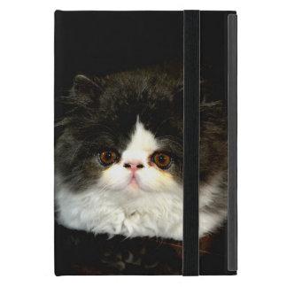 Black and white kitten iPad mini cover