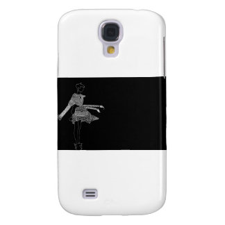 Black and White Knit Wear Galaxy S4 Cover