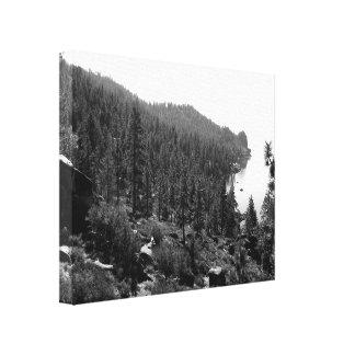 Black And White Landscape 17 Canvas Print