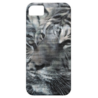 Black and White Layered Tigers Vintage iPhone 5 Cover