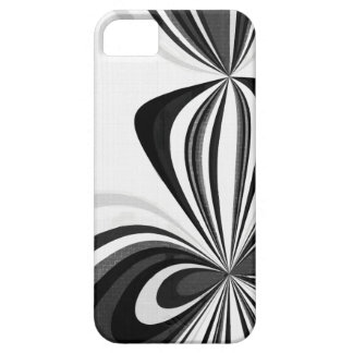Black and White Loops Case For The iPhone 5