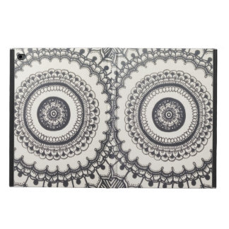 Black and White Mandala iPad Air 2 Case