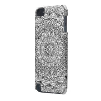 Black and white Mandala iPod Touch (5th Generation) Cover