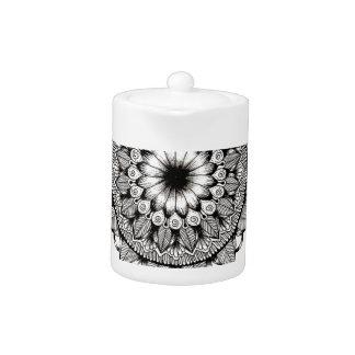 Black and White Mandala Item
