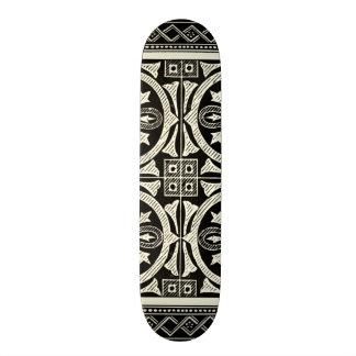 Black and White Mandala Motif by Vision Studio Skate Decks