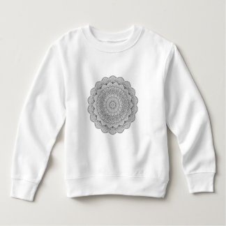 Black and white Mandala Sweatshirt