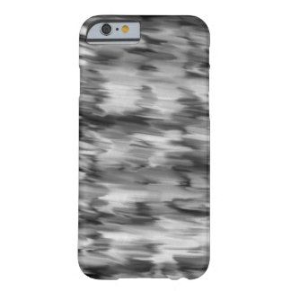 Black and White Marble Barely There iPhone 6 Case