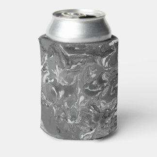Black and white Marble. Can Cooler
