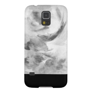 Black and white mask case for galaxy s5