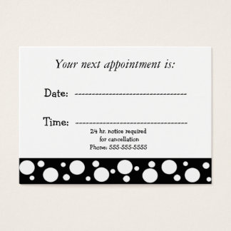 Black and White Medical Appointment