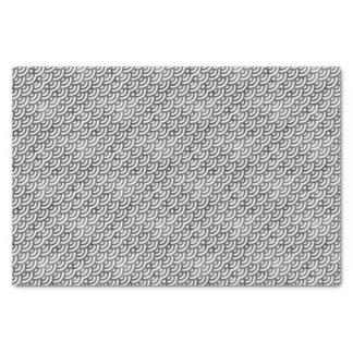 Black and White Mermaid Pastel Pattern Tissue Paper