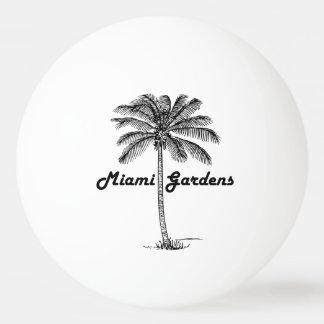 Black and White Miami Gardens & Palm design