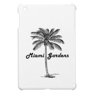 Black and White Miami Gardens & Palm design Cover For The iPad Mini