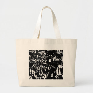 Black and white miracle large tote bag