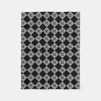 Black And White Modern Art Deco Diamonds Blanket