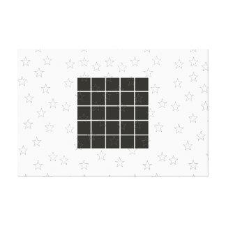 Black and White Modern Minimalism Art Decor Print Canvas Print