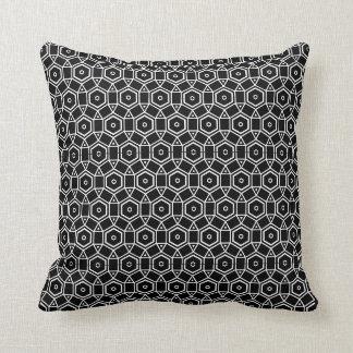 black and white modern  pillow