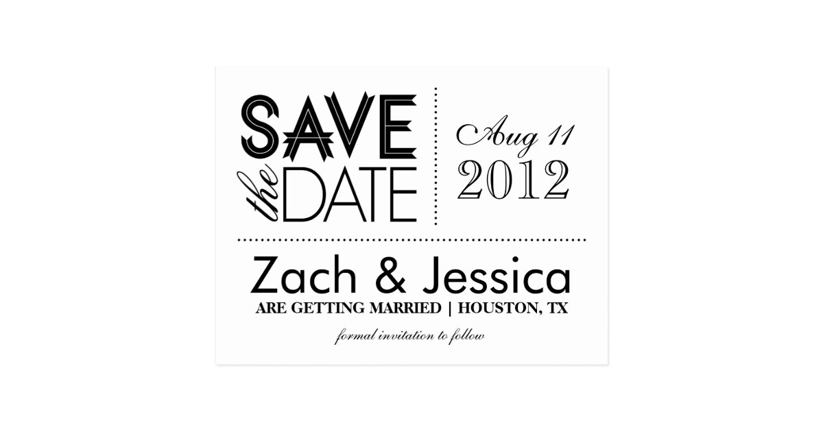 black and white save the dates 28 images black and white vintage