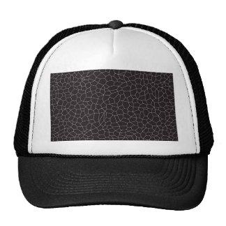Black and White Mosaic Cap
