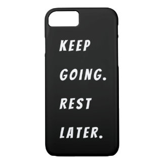 Black and White Motivational iPhone Case