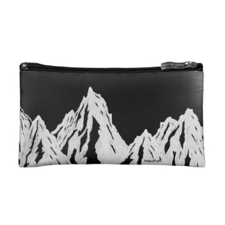 Black and White mountain range bag