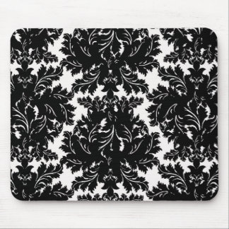 Black and White Mouse Pad