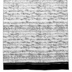Black and white music note shower curtain
