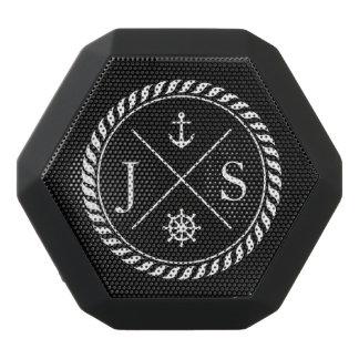 Black and White Nautical Anchor Monogram