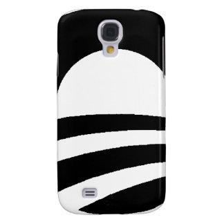 black and white obama logo galaxy s4 cover