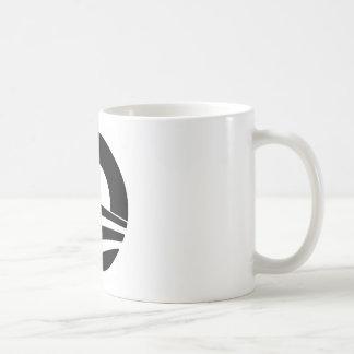 black and white obama logo mug