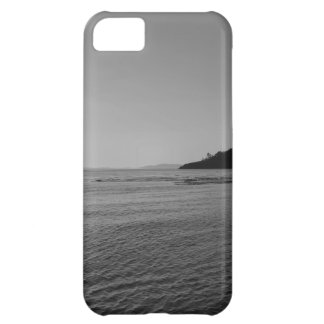 Black and White Ocean Sunset iPhone 5C Case