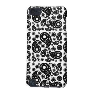 Black and White Paisley. iPod Touch (5th Generation) Case