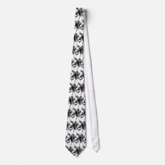Black and White Palm Tie
