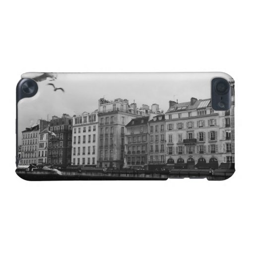 Black and White Paris iPod Touch (5th Generation) Cover