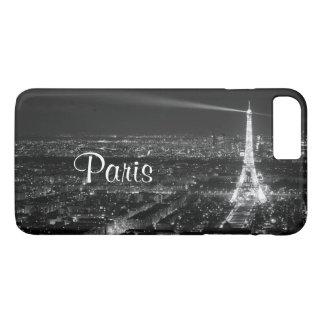 Black and White Paris Text iPhone 8 Plus/7 Plus Case