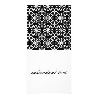 Black and White Pattern 02 Picture Card