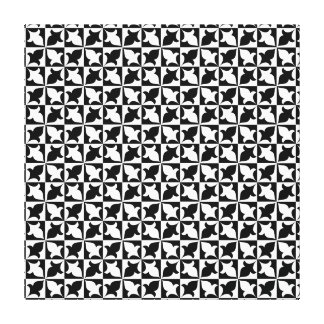 Black and white pattern canvas canvas prints