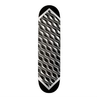 Black and White Pattern Customizable Deck w2 Custom Skateboard