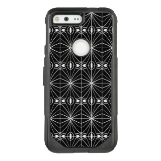 Black and White Pattern Design OtterBox Commuter Google Pixel Case