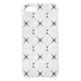 Black and white pattern dogwood flower iPhone 7 case