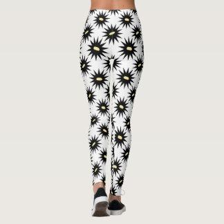 Black and White pattern leggings