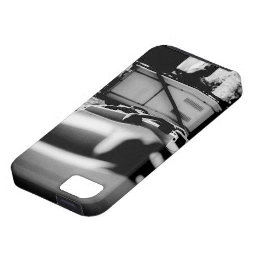 Black and white Payphone case (Street Photography) iPhone 5 Cases